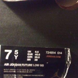 Jordan future brand shoes